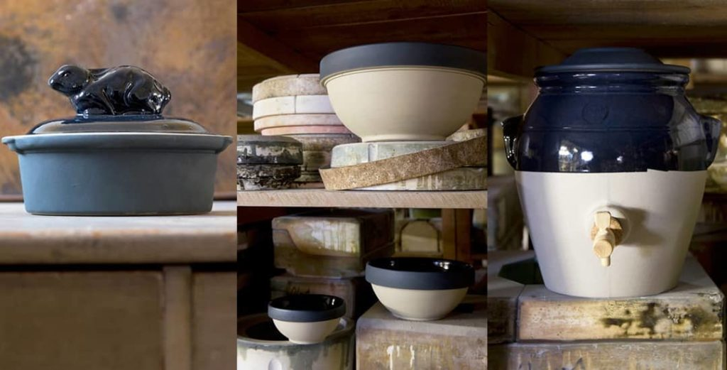 production de Grès et poterie